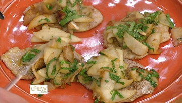 Almond Crusted Scallopini with Apples & Arugula: Part 2