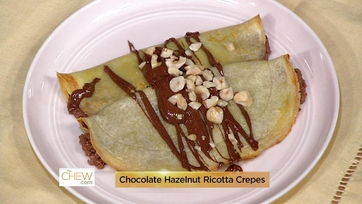 Breakfast Battle: Croque Madame Bread Pudding & Chocolate Hazelnut Ricotta Crepes: Part 1