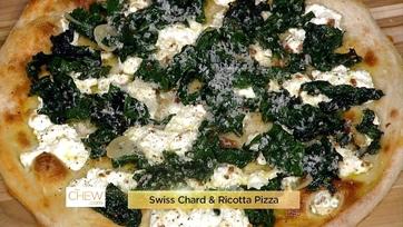 Swiss Chard & Ricotta Pizza Done 3 Ways: Part 1