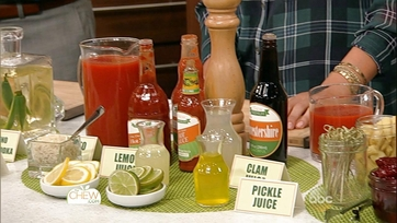 Tips: Clinton\'s Perfect Bloody Mary Bar