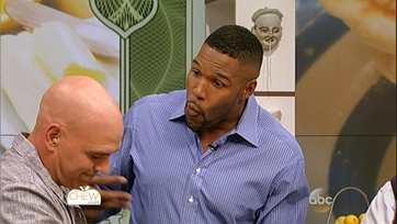 Michael Strahan and Michael Symon\'s Tomato & Ricotta Tart: Part 1