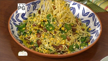 Spaghetti with Corn, Bacon and Jalapeno Recipe: Part 2