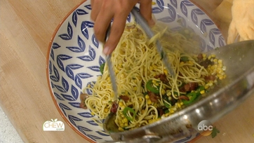 Spaghetti with Corn, Bacon and Jalapeno Recipe: Part 1