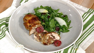Cherry Stuffed Chicken Legs Recipe: Part 1