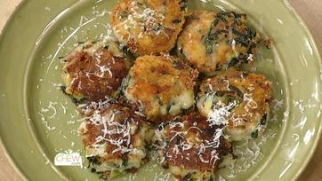 Parmesan Kale & Potato Cakes Recipe: Part 2