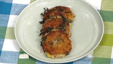 Parmesan Kale & Potato Cakes Recipe: Part 1