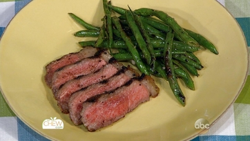 Steak with Grilled Green Beans: Part 1