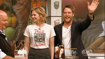 Analeigh Tipton & Jake McDorman Stop By