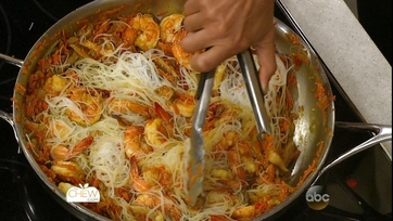 Singapore Noodles with Shrimp: Part 2