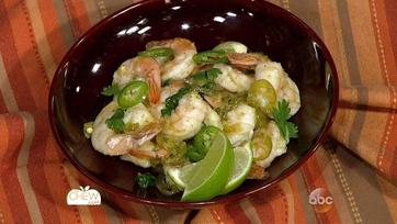 Sizzling Tequila Lime Shrimp: Part 1