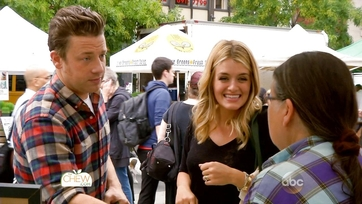 At the Farmer\'s Market with Jamie Oliver