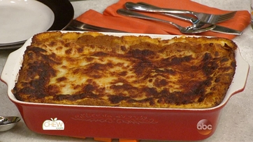 Pumpkin Lasagna with Bchamel Sauce
