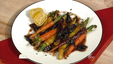 Spice-Scented Carrots and Figs