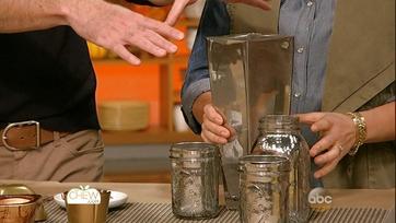 Dollar Store Craft: Mercury Glass Vase