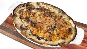 Creamed Spinach Potato Gratin: Part 1
