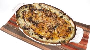 Creamed Spinach Potato Gratin: Part 4