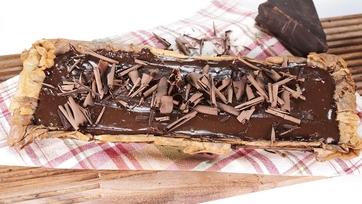 Chocolate Phyllo Tart: Part 1