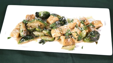 Sweet Potato Gnocchi with Brussels Sprouts and Brown Butter: Part 1