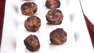 Fried Mini Pork Meatballs: Part 1