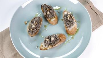 Roasted Mushroom Pate: Part 1