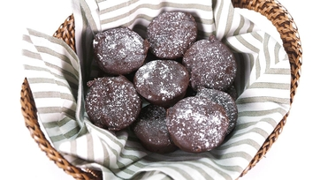 Sweet Potato Brownie Bites: Part 1