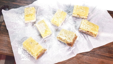 Lightened Up Lemon Squares: Part 1