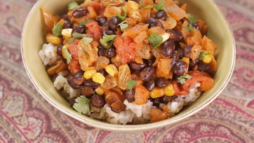 Black Bean Picadillo: Part 1