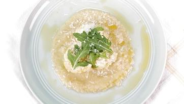 Ricotta Gnudi with Yellow Tomato Sauce: Part 1
