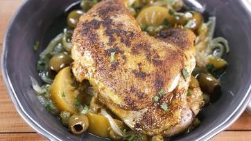 Moroccan Chicken: Part 1