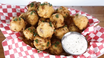 Clam Chowder Fritters: Part 1