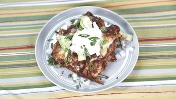 Chicken Mole Enchiladas: Part 2