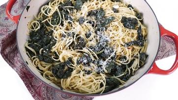 One-Pot Lemon Kale Pasta