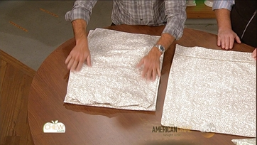 Clinton's Tip: Fold Your Sheets into a Pillow Case for Storage