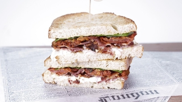 Oven-Roasted BLT with Tangy Mayo: Part 1