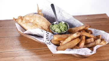 Beer Battered Fish \'n\' Chips with Mushy Peas: Part 1
