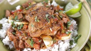 Chicken and Sausage Stew: Part 1