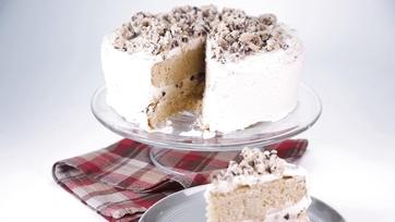 Choco Chip Cookie Dough Layer Cake