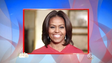 Michelle Obama Challenges the Chew Crew
