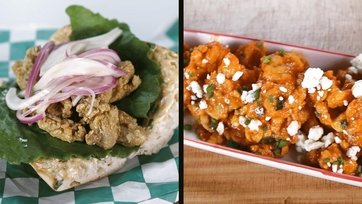 Buffalo Fried Oysters / Oyster Po Boy with Pickled Fennel and Onions: Part 2