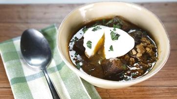 Batali Beef and Barley Soup: Part 1