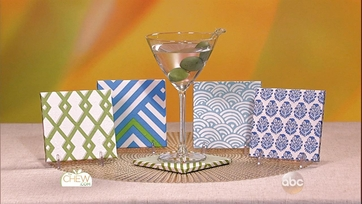 Cocktail Napkin Coasters