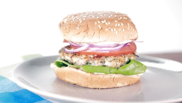 Rock Shrimp Burger: Part 1