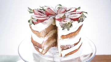 Strawberry Lemon Layer Cake: Part 1