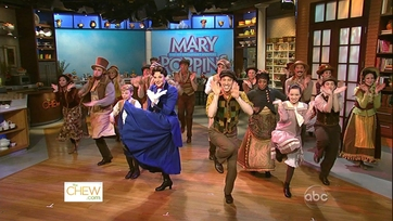 Mary Poppins Cast Sings