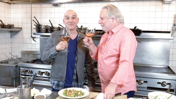 On Location: Michael at Barbuto with Jonathan Waxman
