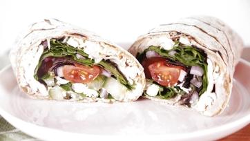 Mediterranean Chicken Wrap: Part 1