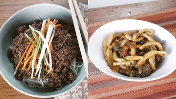 Sweet and Spicy Beef Noodles vs. Pici with Lamb Ragu: Part 1