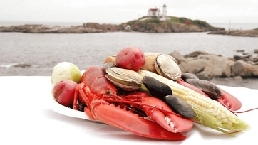 On Location: Daphne's First Clambake