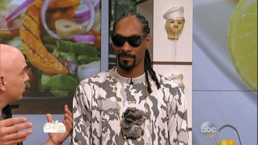 Snoop Dogg Dishes on The Chew: Part 1