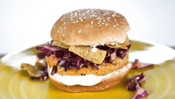 Buffalo Chicken Burger: Part 2